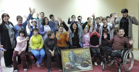 Благотворительный аукцион певицы Анжелики Начесовой