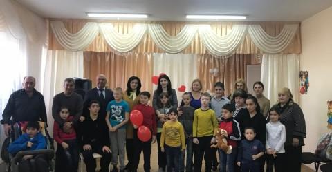 Международный день инвалидов в РГКУ для детей-инвалидов «Республиканский социально-реабилитационный центр для детей с ограниченными возможностями»