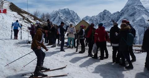 II Зимний фестиваль «Cнежный Домбай»