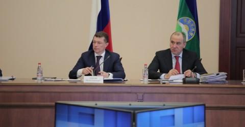 Максим Топилин провел в Карачаево-Черкесии совещание с руководителями министерств соцзащиты субъектов СКФО