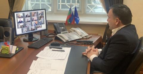 Министр провел очередное селекторное совещание с руководителями Управлений труда и социальной защиты