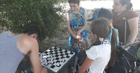 Министр с рабочим визитом посетил РГКУ для детей-инвалидов «Республиканский детский дом-интернат для умственно отсталых детей «Забота»