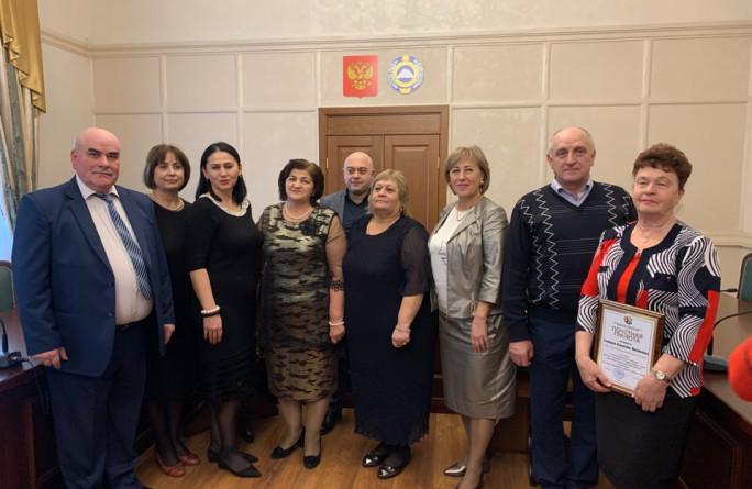 Награждение победителей Республиканского конкурса «Лучший специалист по охране труда Карачаево-Черкесской Республики»