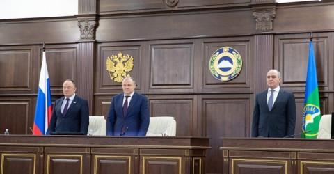 Очередное 17 пленарное заседание Народного Собрания (Парламента) Карачаево-Черкесии