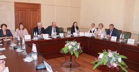 Заседание коллегии Министерства труда и социального развития Карачаево-Черкесской Республики