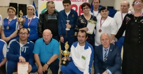 Первые в СКФО  командные соревнования  по настольному теннису «Шоудаун» среди инвалидов по зрению