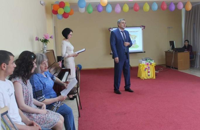 1 июня 2017 в детском доме-интернате «Забота» прошло праздничное мероприятие, посвященное Международному дню защиты детей