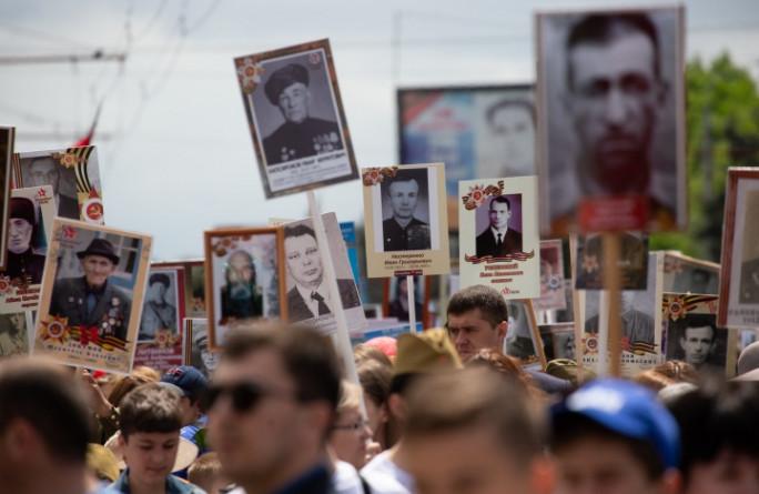 Глава Карачаево-Черкесии вместе с 75 тысячами жителей республики принял участие во Всероссийской акции «Бессмертный полк»