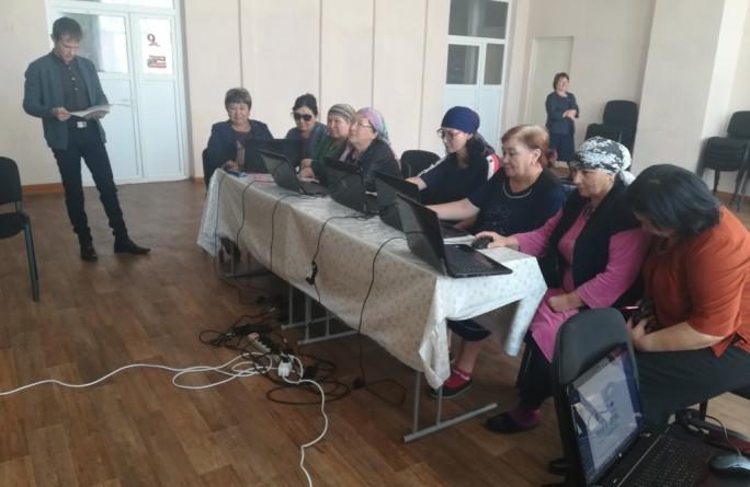 Компьютерные курсы для неработающих пенсионеров