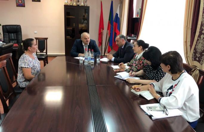Министр провел выездной прием граждан  в Абазинском муниципальном районе