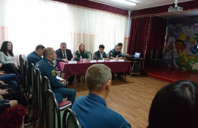На базе РГБУ Центр «Надежда» проведен учебно-методический сбор