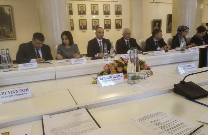 Министр труда и социальной защиты РФ Максим Топилин провел совещание