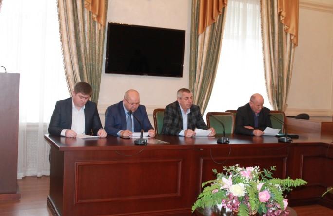 Совещание с директорами учреждений по вопросу противодействия коррупции за 2017 год