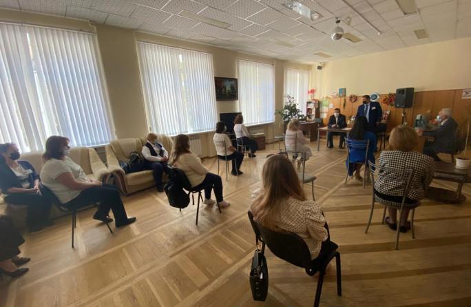 В Центре социального обслуживания населения открылось новое специализированное отделение оздоровительного, социально-медицинского обслуживания на дому
