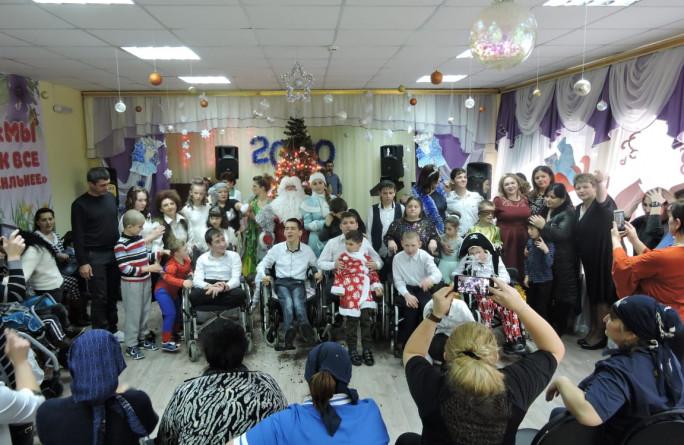 В подведомственных учреждения прошли новогодние мероприятия