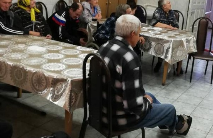В РГБУ «Специальный дом-интернат для престарелых и инвалидов» ст. Кардоникская прошло мероприятие «Правовой марафон для пенсионеров»
