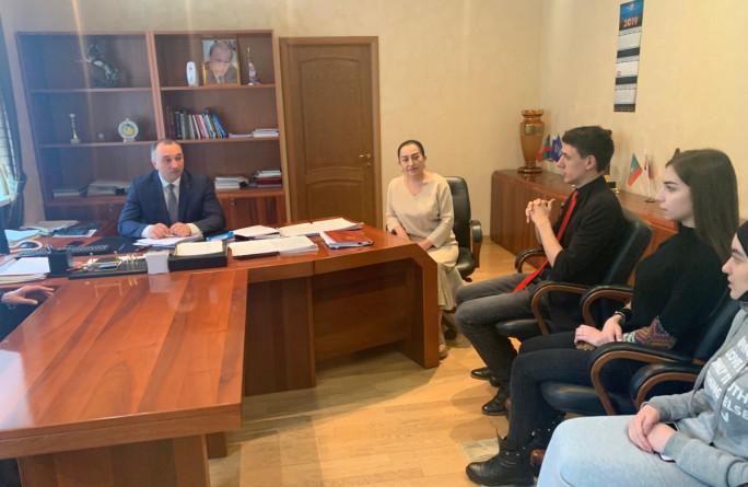 Встреча Министра труда и социального развития КЧР с молодежью