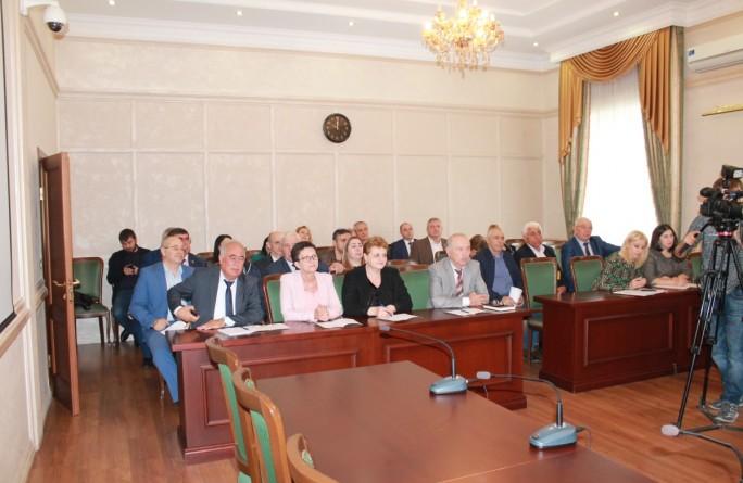 Заседание республиканской трехсторонней комиссии