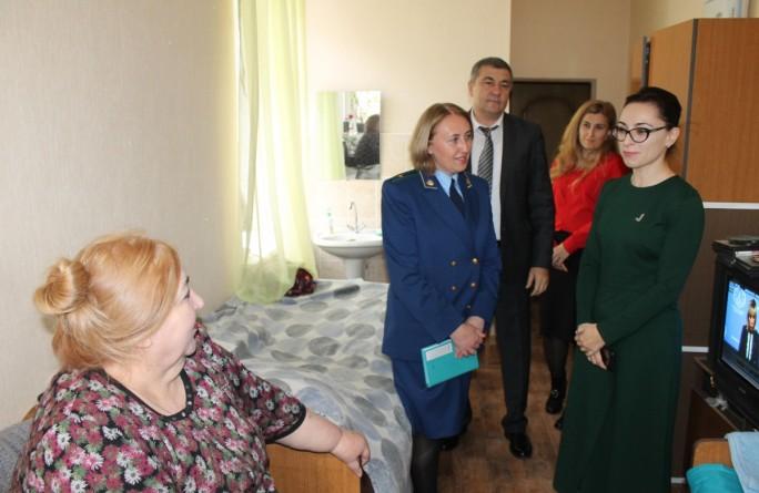 Жильцам  дома-интерната оказана правовая помощь