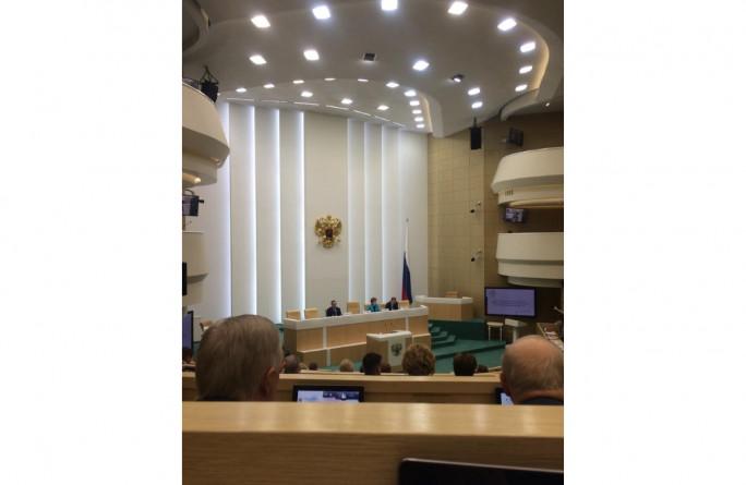 Председатель Совета Федерации В. Матвиенко провела встречу с тружениками социальной сферы села