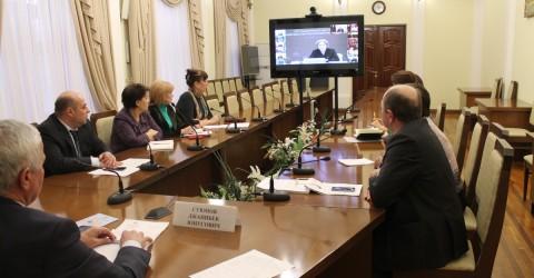 Заместитель Председателя Правительства РФ провела видеоселекторное совещание