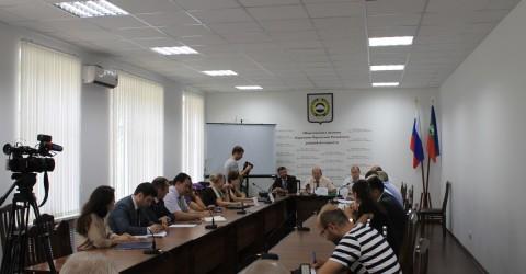 Рабочая встреча представителей исполнительной власти и НКО