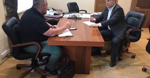 Рабочая встреча с Управляющим Карачаево-Черкесского отделения ПАО Сбербанк