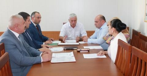 """Сегодня состоялось обсуждение этапов реализации национального проекта """"Демография"""""""