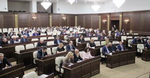 Состоялась очередная XXXIX сессия Народного Собрания Карачаево-Черкесии