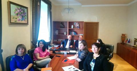Совещание по вопросам внесения данных в информационную систему мониторинга национальных проектов