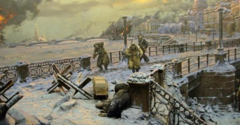 75 лет освобождения Ленинграда от фашистской блокады