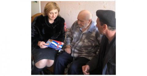 В День защитника Отечества ветераны Великой Отечественной войны получили именные подарки и поздравления от Полпреда Президента РФ в СКФО и Главы КЧР