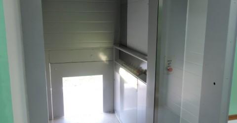 В детском доме-интернате «Забота» установлены 3 лифта