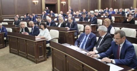 В Народном Собрании (Парламенте) КЧР прошла очередная 41 сессия