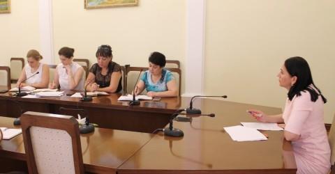 Видеоселекторное совещание по разработке регионального плана в рамках национального плана по направлению «Демография».