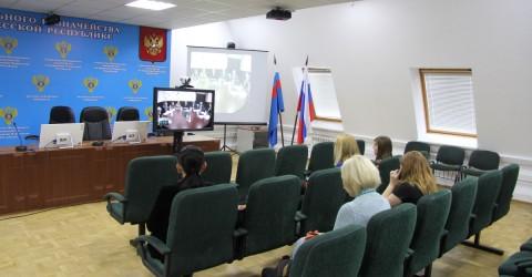 Видеоселекторное совнещание по вопросу проведения в организациях социальной сферы независимой оценки качества оказания услуг населению