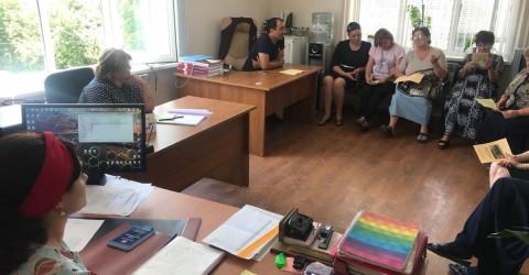 Выездная консультация в Верхне-Маринском сельском поселении