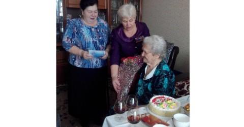 95- летний юбилей Ветерана Великой Отчественной Войны