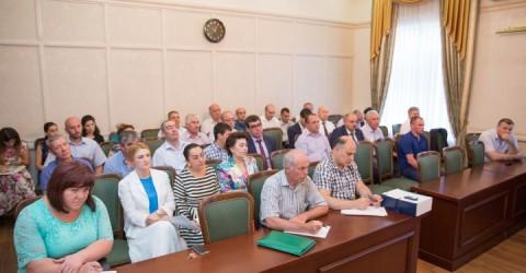 Заседание Комиссии по предупреждению и ликвидации чрезвычайных ситуации и обеспечению пожарной безопастности Карачаево-Черкесской Республики