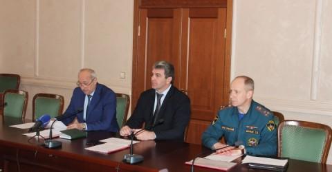 Заседание Комиссии по предупреждению и ликвидации чрезвычайных ситуаций и обеспечению пожарной безопасности Карачаево-Черкесии